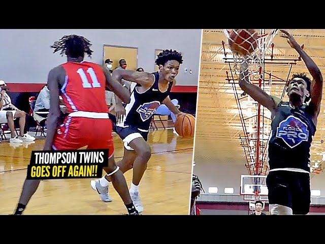 5 Star Twins DOMINATE EVERYONE!! Amen & Ausar Thompson Go NUTS In AAU Game!