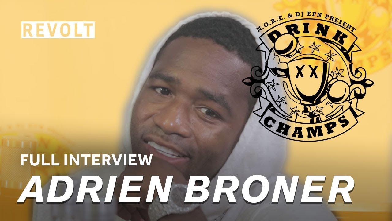 Adrien Broner | Drink Champs (Full Episode)