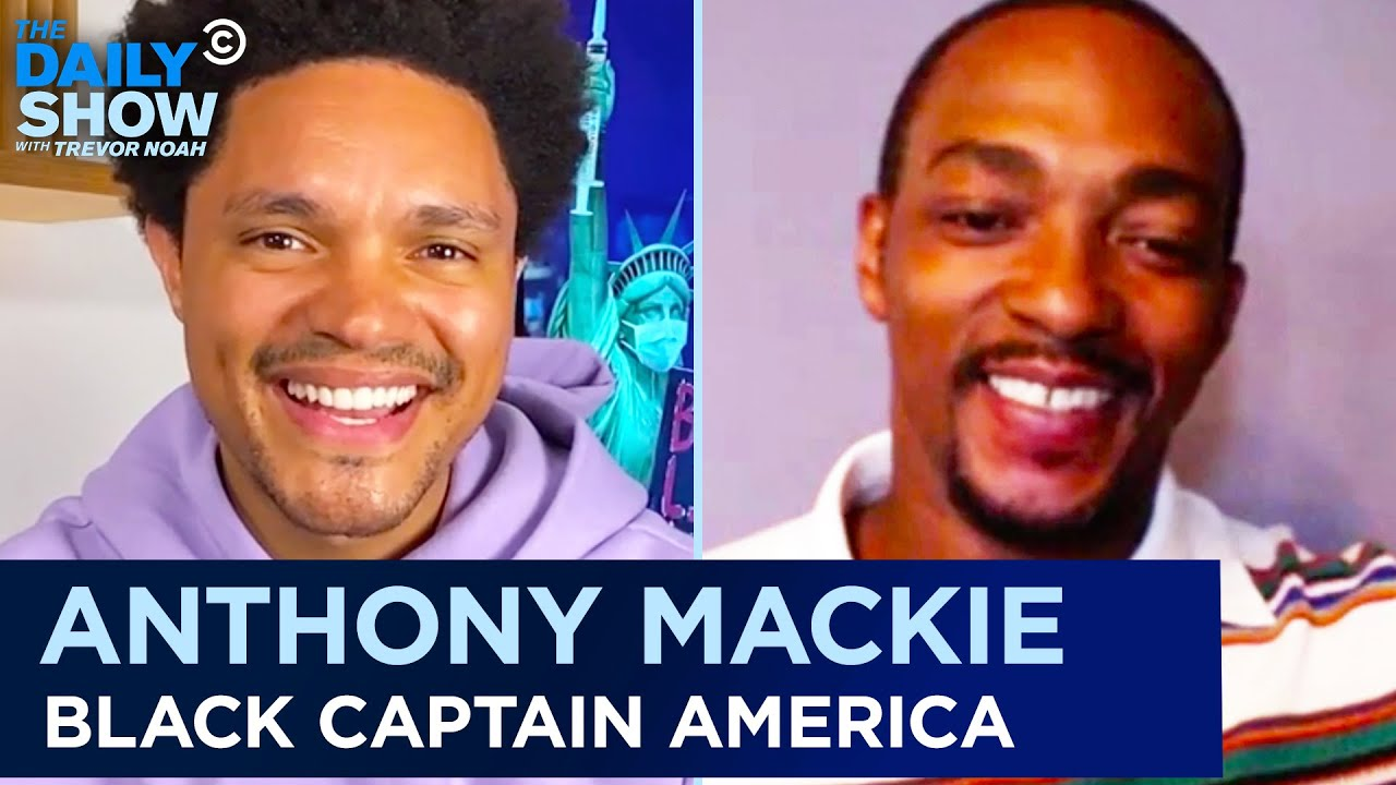 Anthony Mackie – Becoming the First Black Captain America | The Daily Show