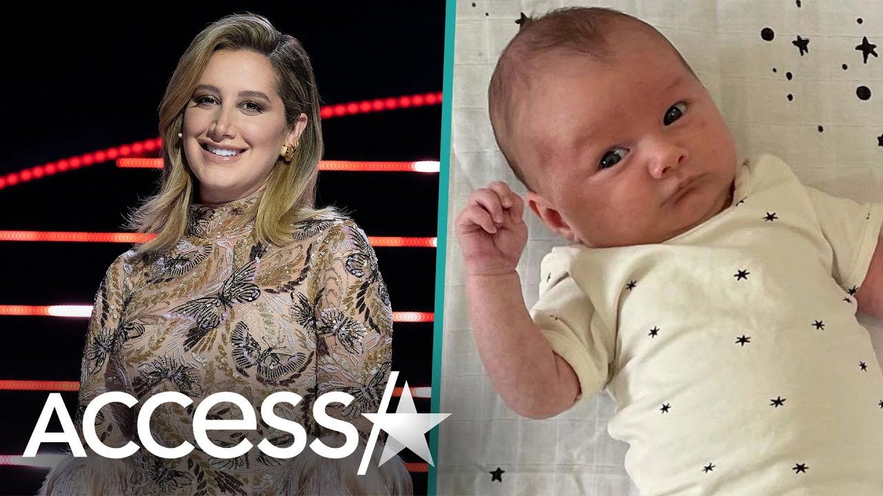 Ashley Tisdale's First Pics of Baby Jupiter