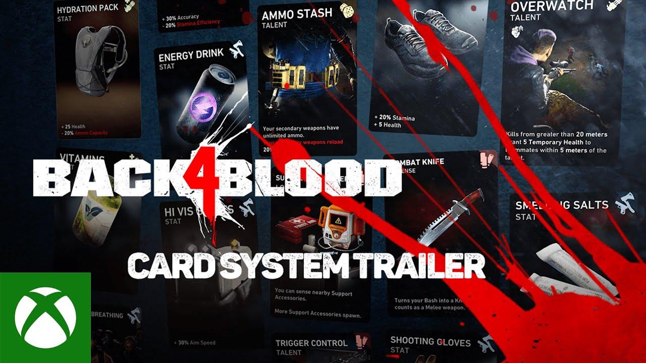 Back 4 Blood – Card System Trailer