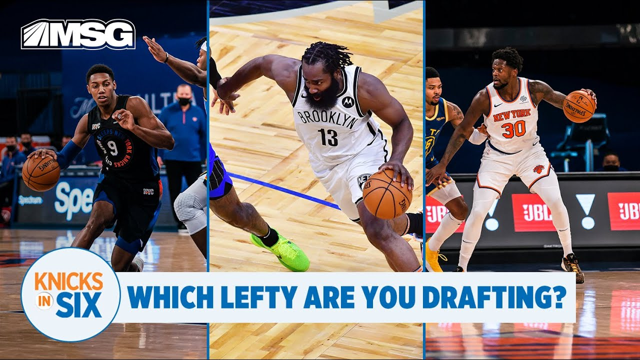 Barrett and Randle : Who Are You Building Your Lefty Squad Around?