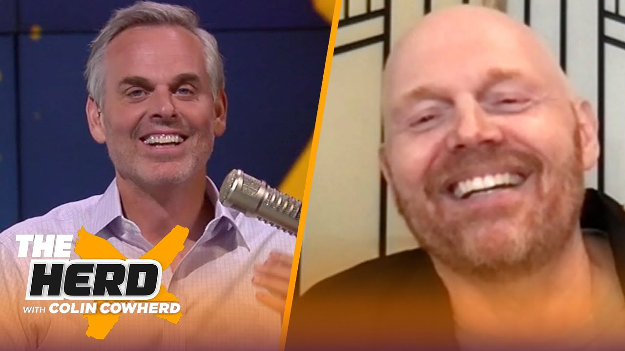 Bill Burr talks Tom Brady's Super Bowl win after leaving Patriots & upcoming tour | NFL | THE HERD