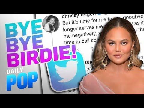 "Chrissy Teigen Deletes Twitter After Feeling ""Deeply Bruised""   Daily Pop   E! News"