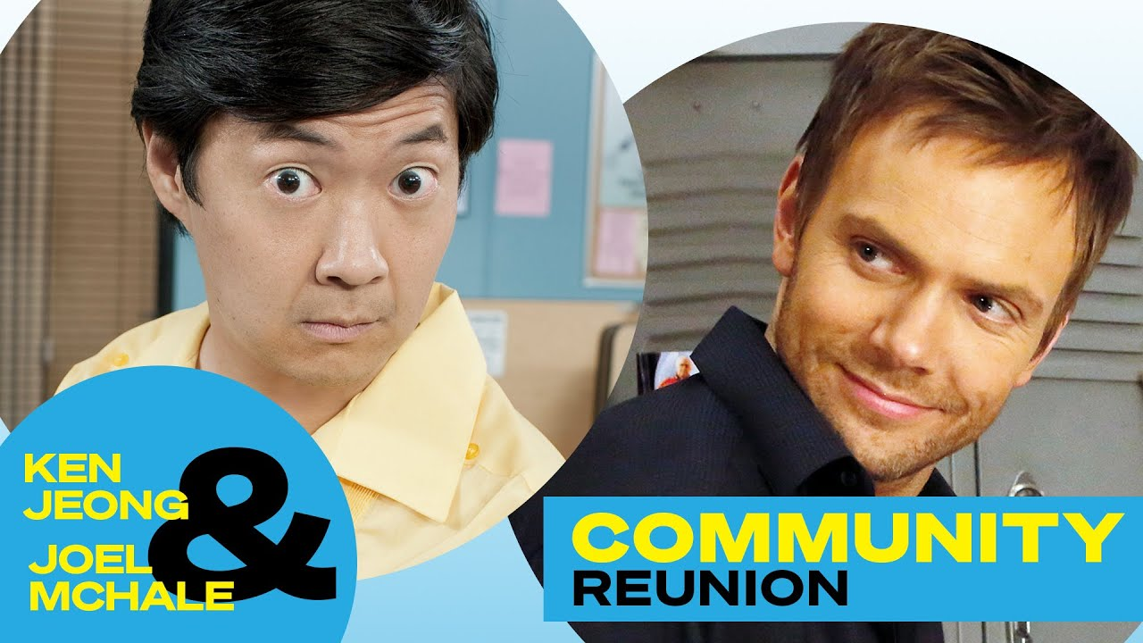 'Community' Pals Ken Jeong and Joel McHale Talk 'The Masked Singer' and Life in Quarantine