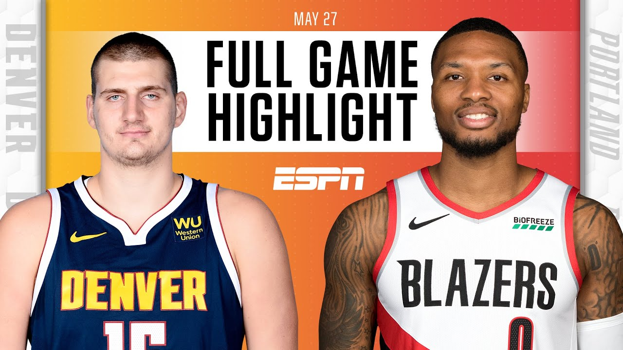 Denver Nuggets at Portland Trail Blazers | Full Game Highlights