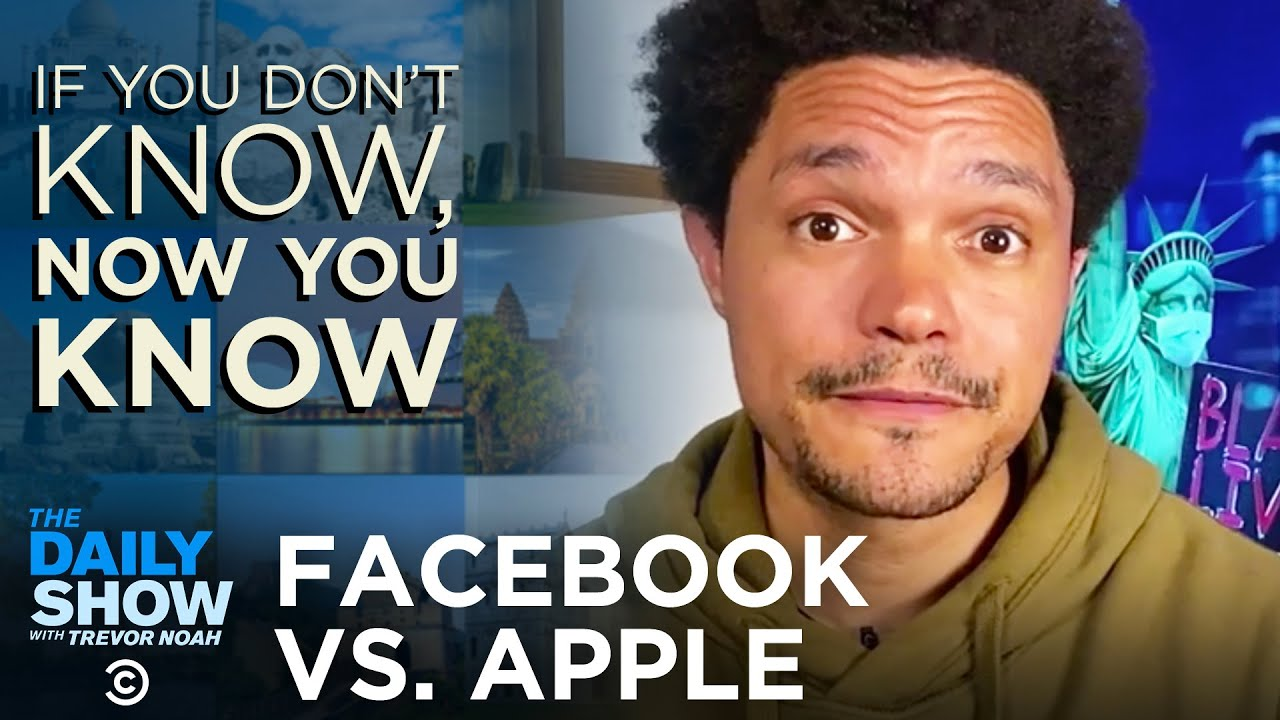 Facebook and Apple Battle Over Privacy | The Daily Show