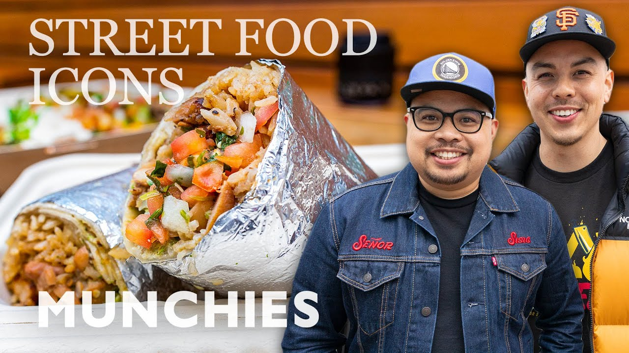 Filipino Style Burritos & Tacos from the Bay Area | Street Food Icons