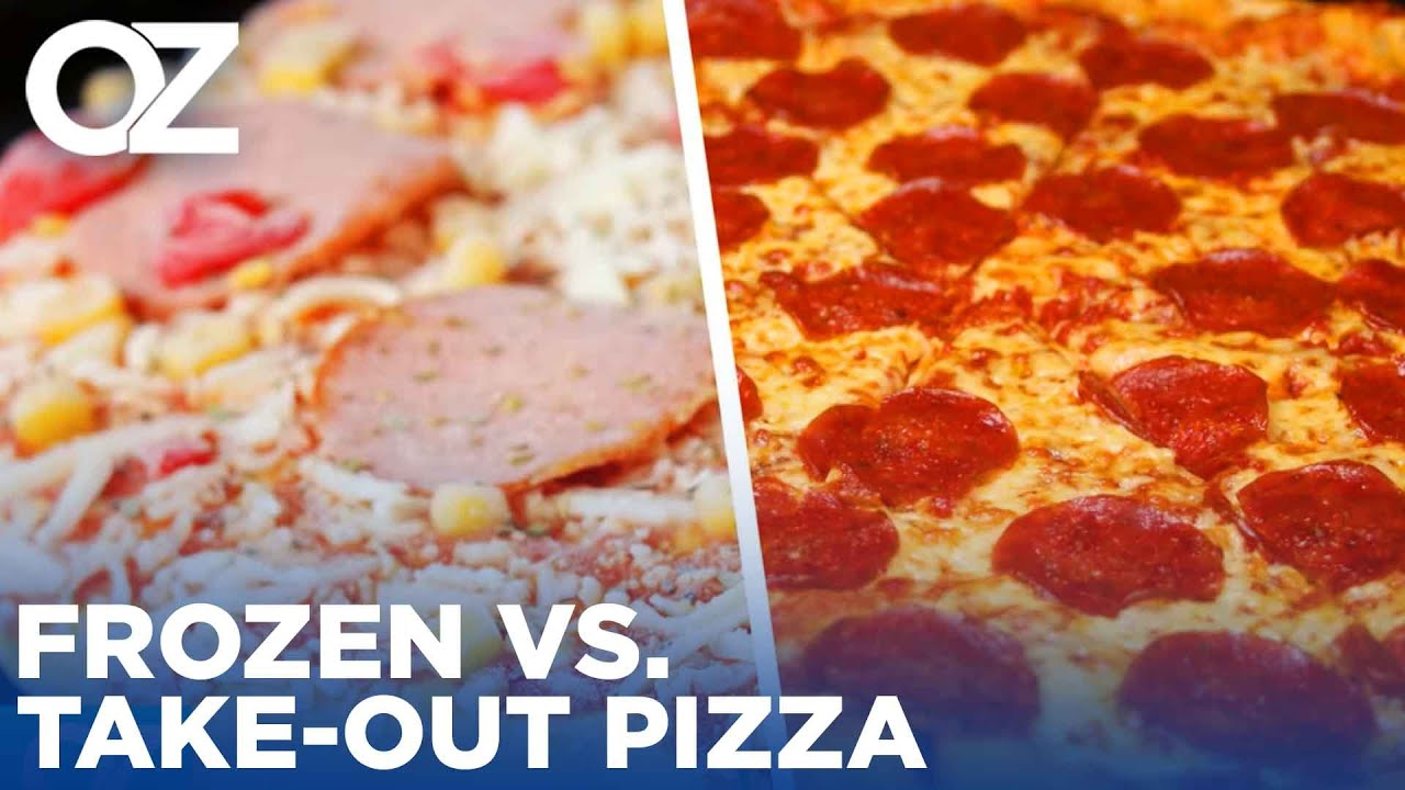 Frozen vs. Take-Out Pizza – Which Will Win Dr. Oz's Ultimate Food Showdown?