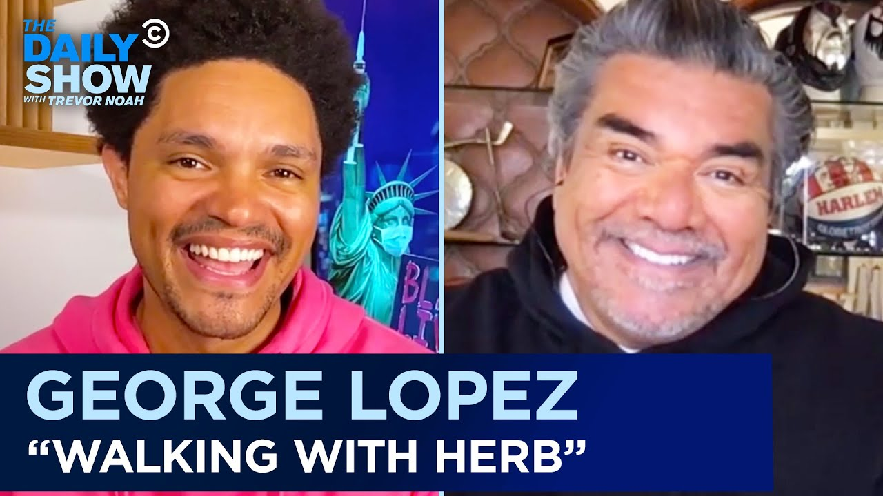 """George Lopez – """"Walking with Herb"""" & His Run-In with the Secret Service 