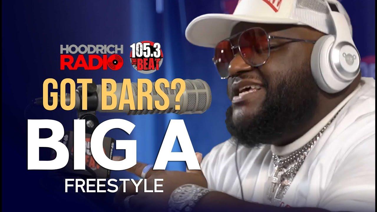 Got Bars: Big A Drops an Exclusive Freestyle w/ DJ Scream on Hoodrich Radio