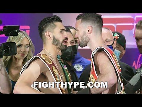 HEATED JOSE RAMIREZ VS. JOSH TAYLOR WEIGH-IN & FIERY FINAL FACE OFF