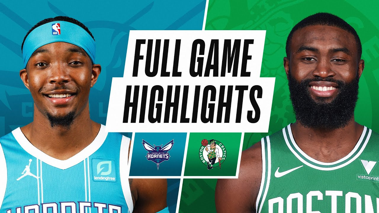 HORNETS at CELTICS | FULL GAME HIGHLIGHTS | April 28, 2021