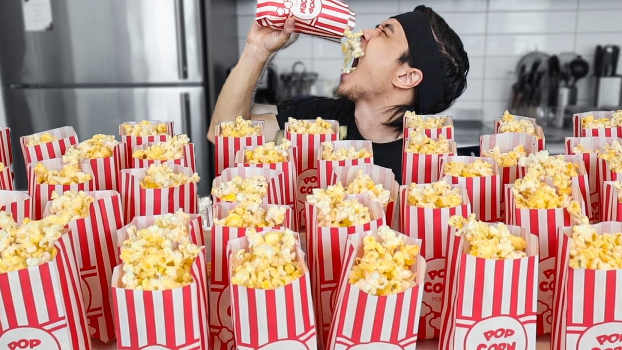 How many Bags of Popcorn can I Eat?  *super salty*