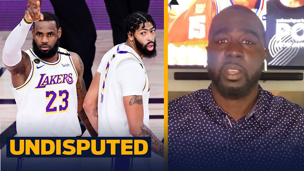 If the Lakers are healthy, my money is on them to win the title — Chris Haynes | NBA | UNDISPUTED