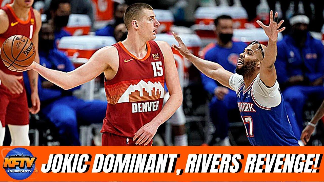 Knicks STRUGGLE Early, Jokic in MVP Form!