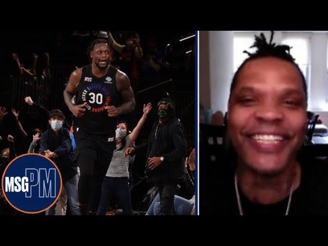 Latrell Sprewell on Randle's Knick Legacy & NBA Playoffs | New York Knicks