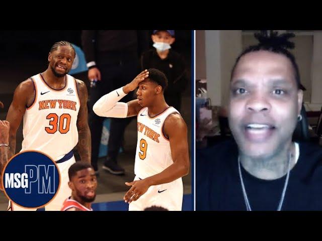 Latrell Sprewell Reacts to Knicks OT Loss vs 76ers | MSG PM