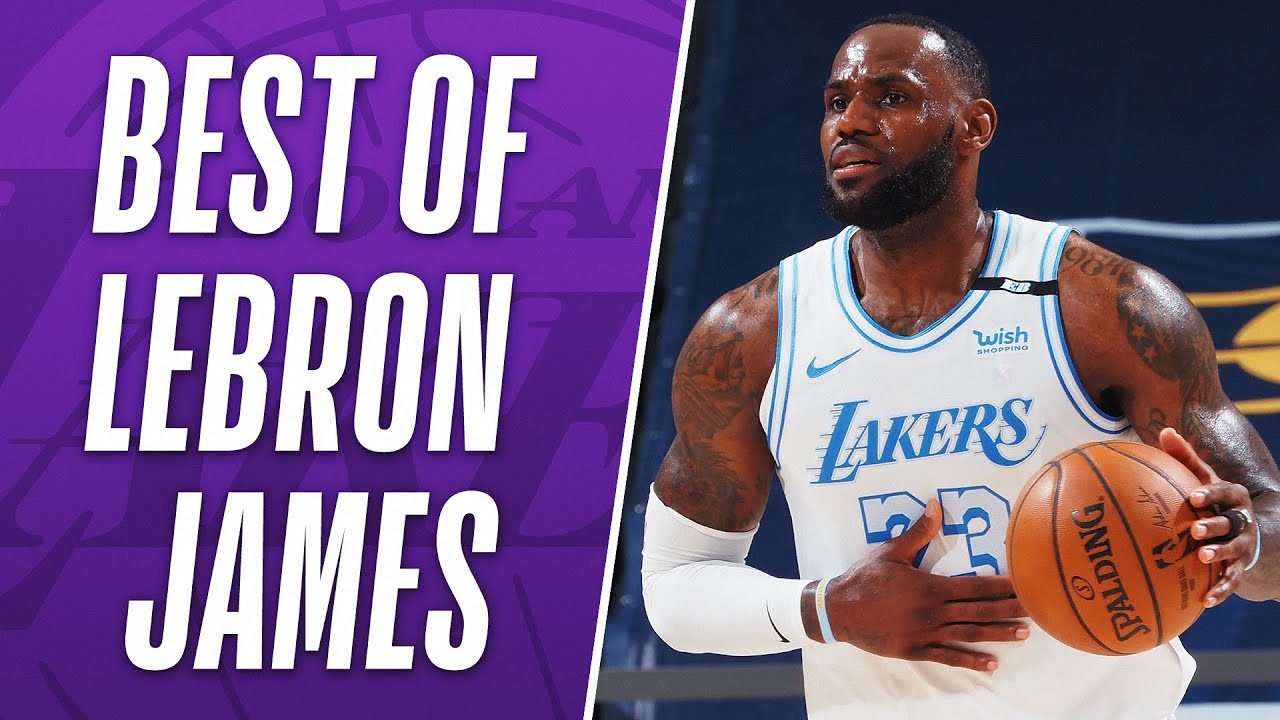 Lebron James BEST PLAYS From The 2020-21 Season! 🏀