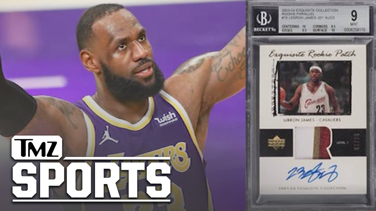 LeBron James Rookie Card Sells For Record $5.2M At Auction | TMZ