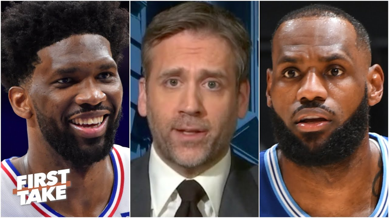 Max explains why Joel Embiid should be the MVP favorite over LeBron | First Take