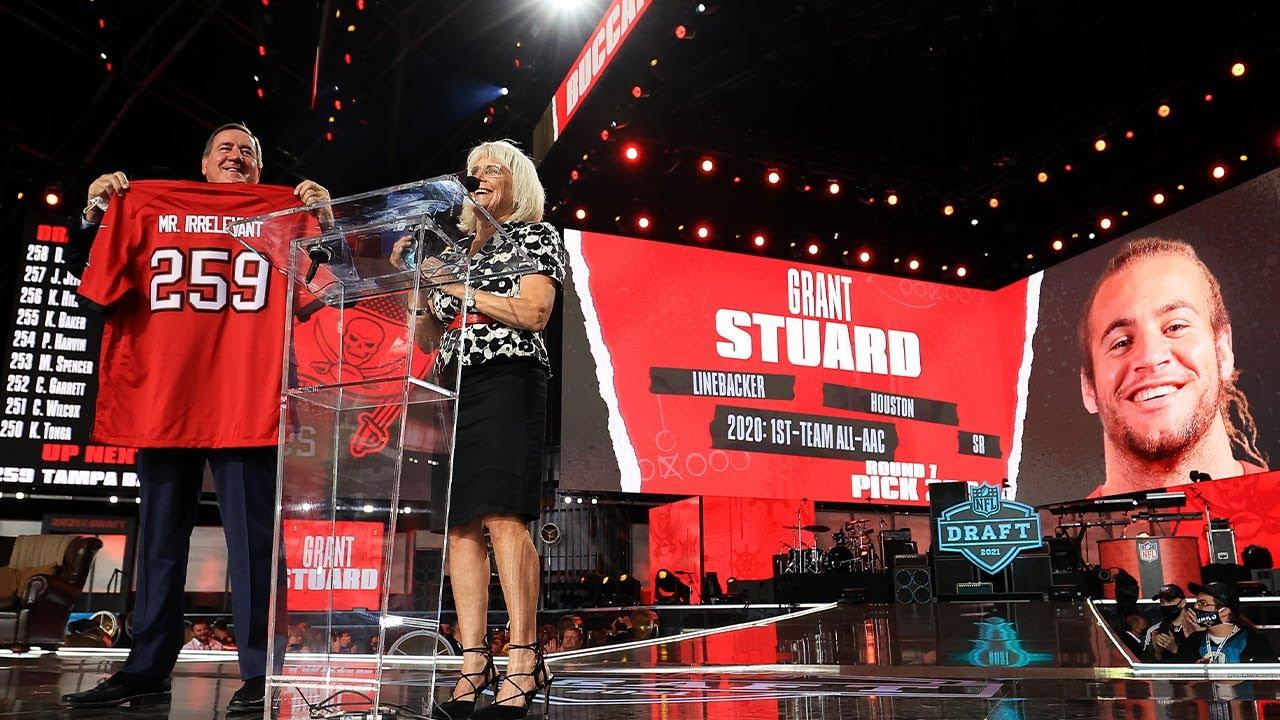 """Mr. Irrelevant"" is Grant Stuard   NFL Draft 2021"