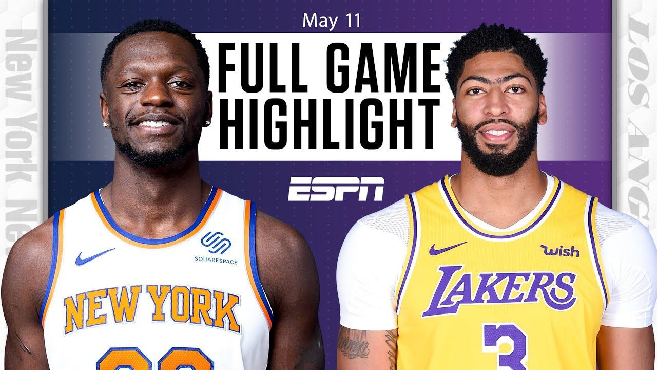 New York Knicks vs. Los Angeles Lakers: Full Highlights