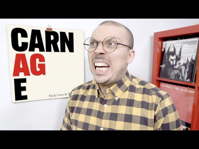 Nick Cave & Warren Ellis – Carnage ALBUM REVIEW