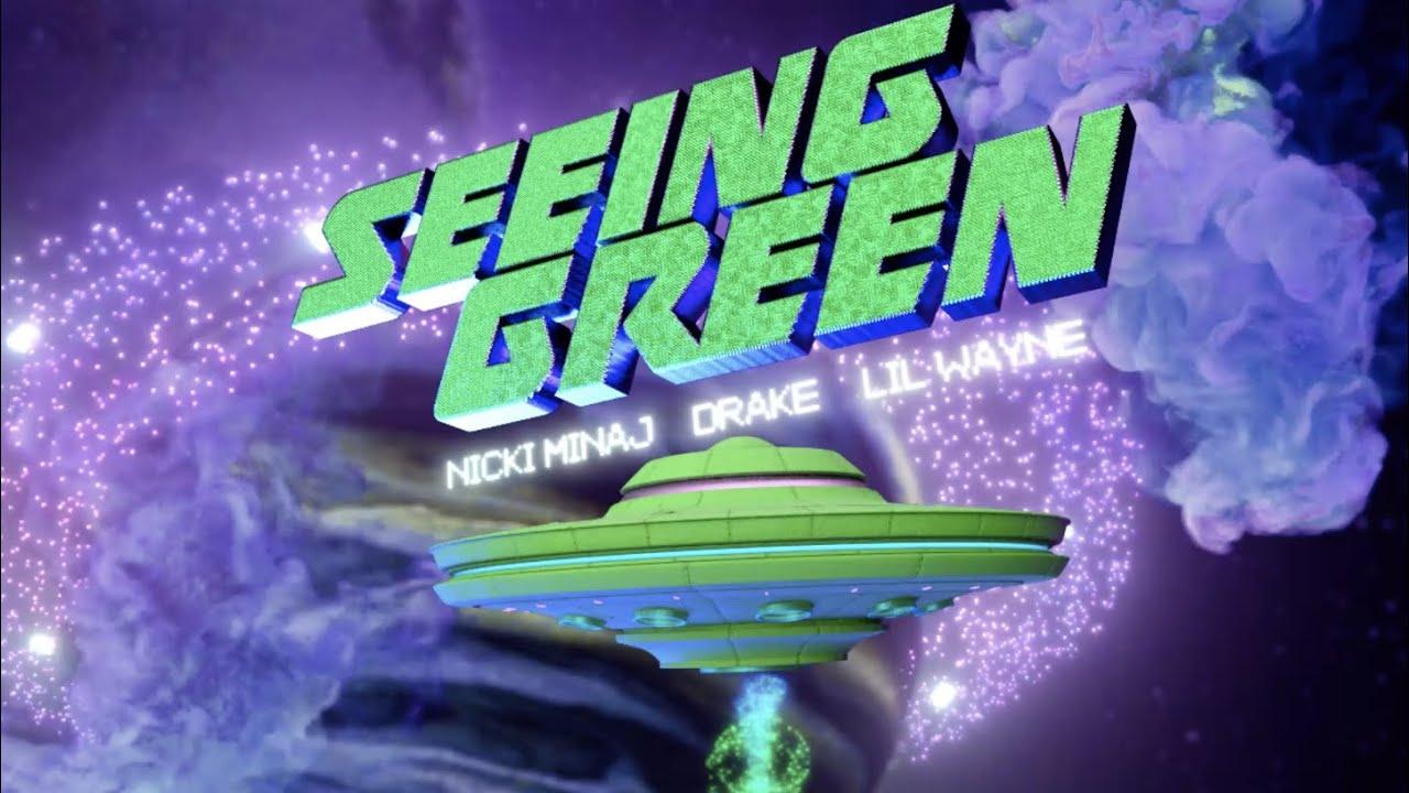 Nicki Minaj, Drake, Lil Wayne – Seeing Green (Lyric Video)