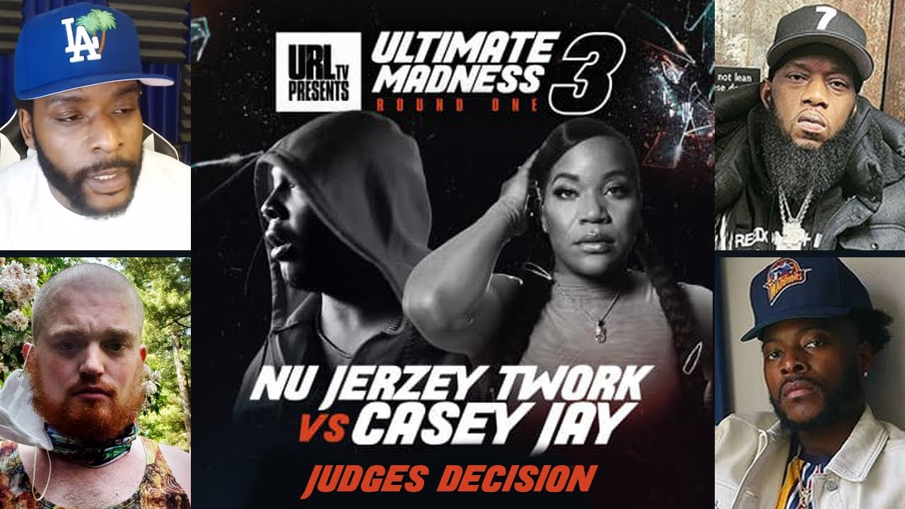 NJ TWORK VS CASEY JAY (JUDGES DECISION) WINNER: CASEY JAY