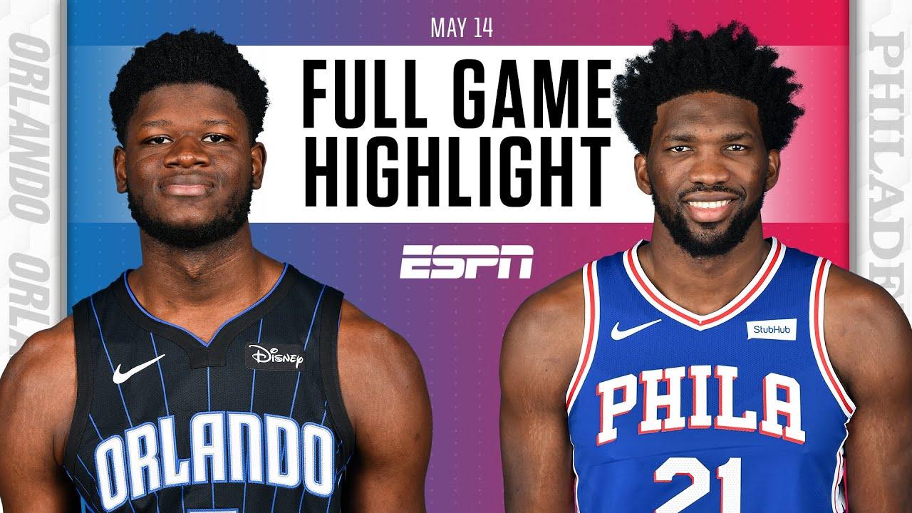 Orlando Magic at Philadelphia 76ers   Full Game Highlights