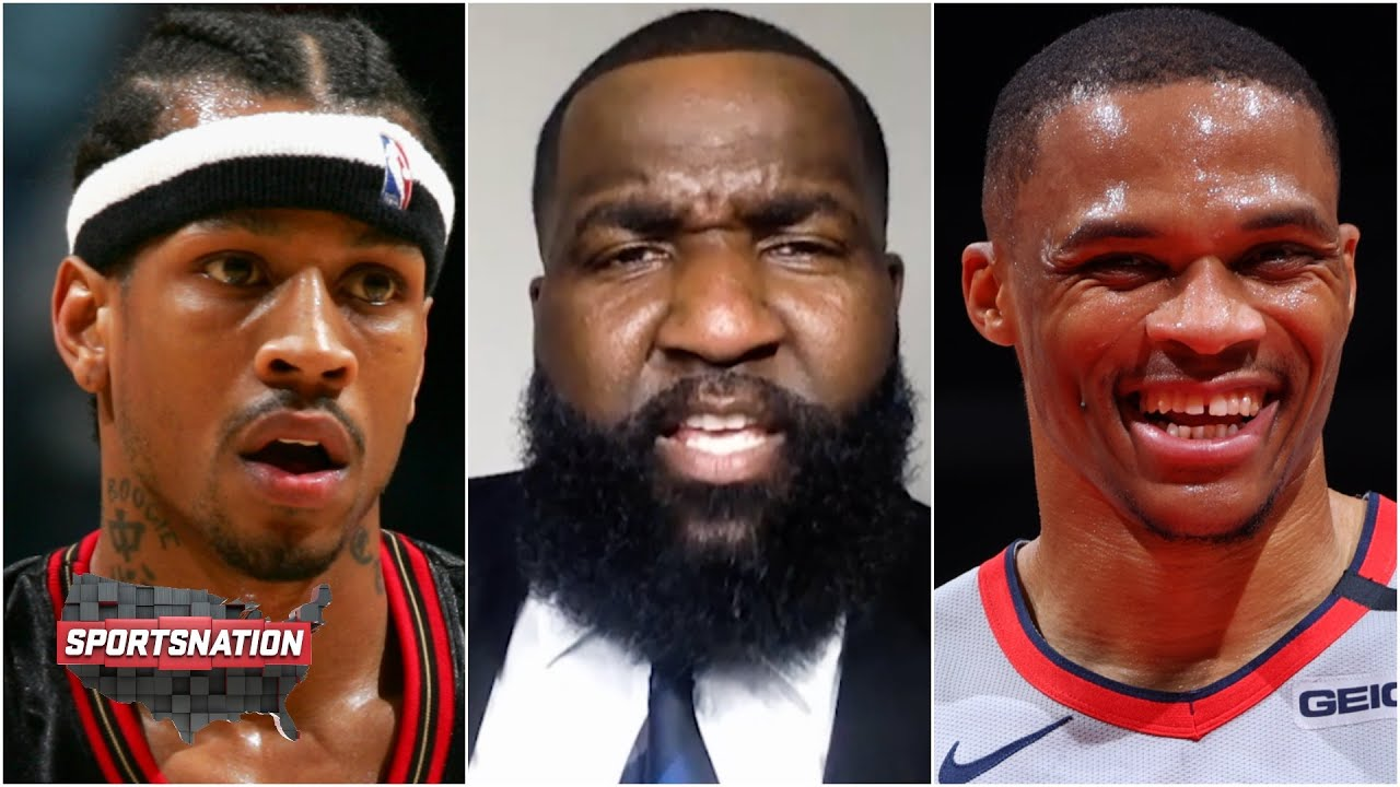 Perk: The BRODIE Russell Westbrook will go down as a better player than Allen Iverson. CARRY ON!