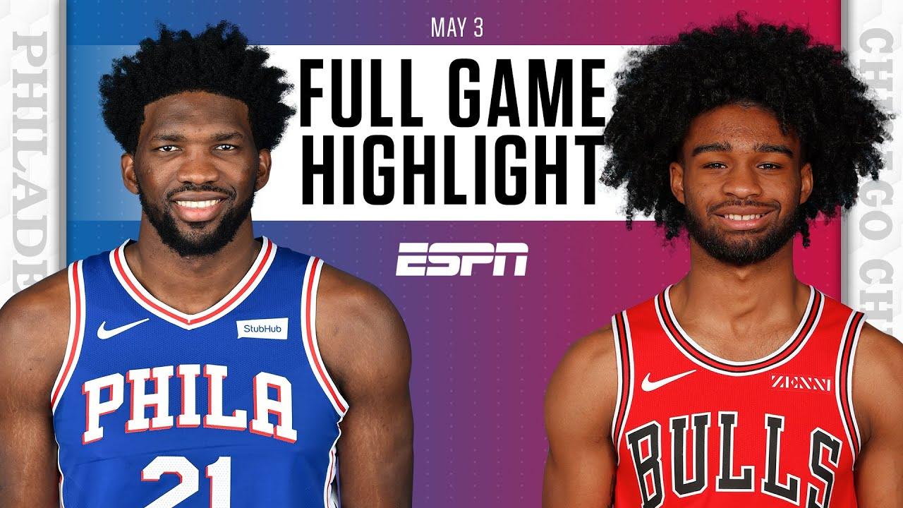 Philadelphia 76ers at Chicago Bulls | Full Game Highlights