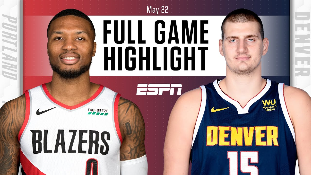 Portland Trail Blazers at Denver Nuggets | Full Game Highlights