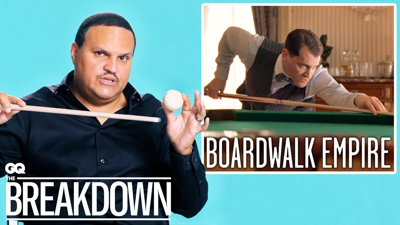 Pro Pool Player Breaks Down Pool Scenes from Movies & TV   GQ