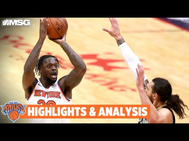 Randle Drops 32 vs Pelicans In Knicks' 4th Straight Win | New York Knicks