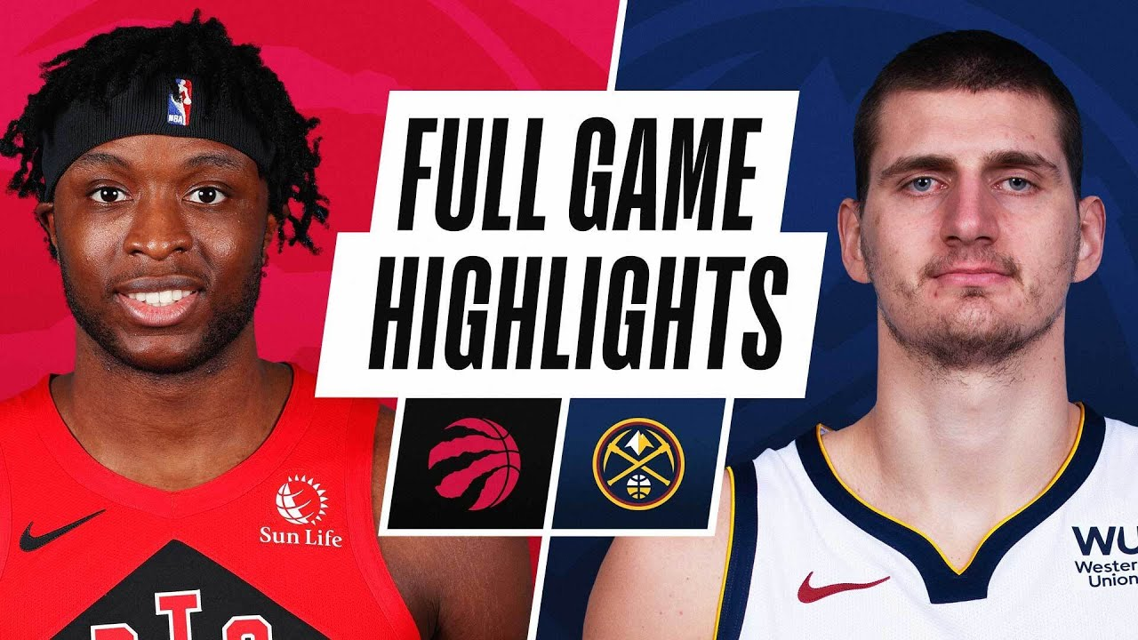 RAPTORS at NUGGETS | FULL GAME HIGHLIGHTS | April 29, 2021