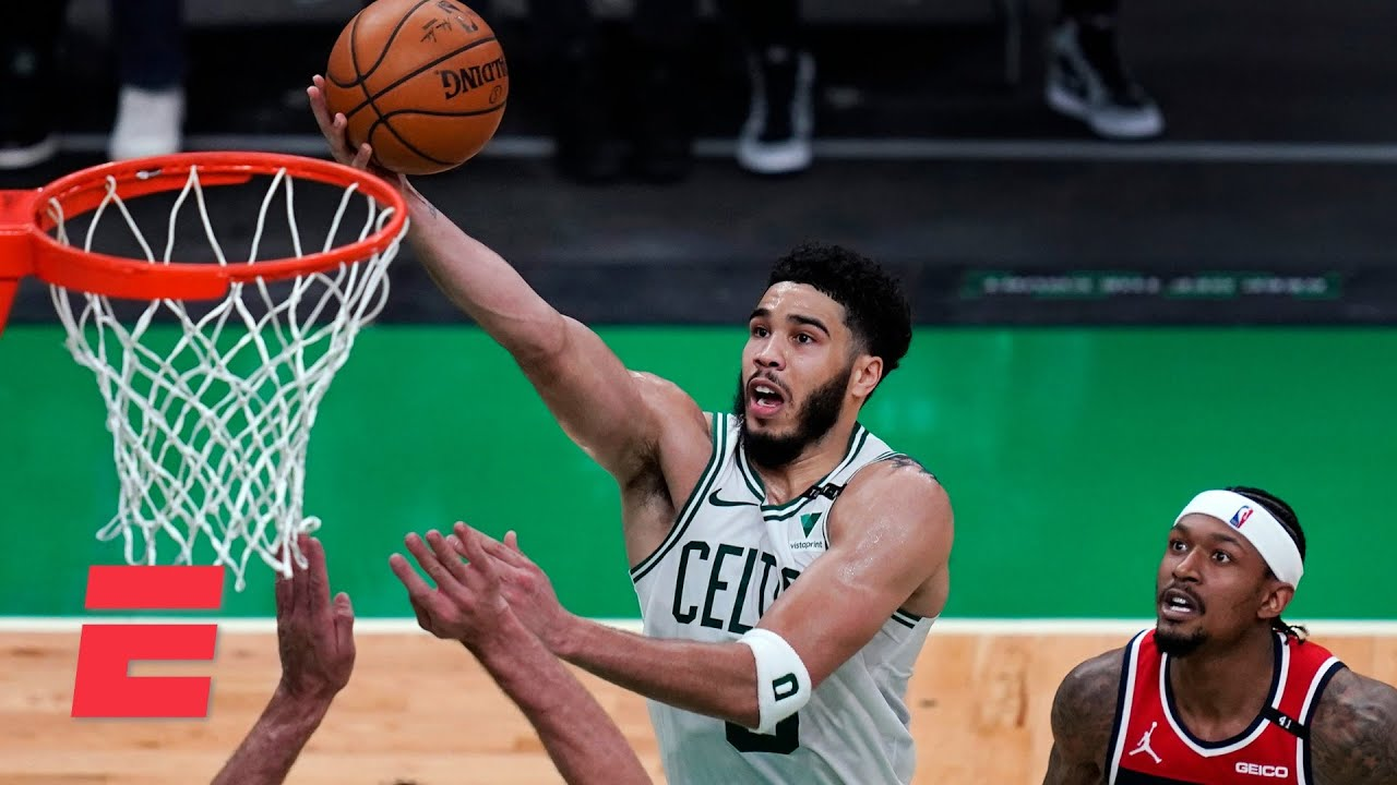 Reacting to Jayson Tatum addressing 'superstar' criticism after scoring 50 points vs. the Wizards