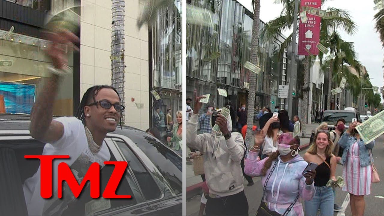 Rich The Kid Makes it Rain on Rodeo Drive,  He Gets a Ticket   TMZ