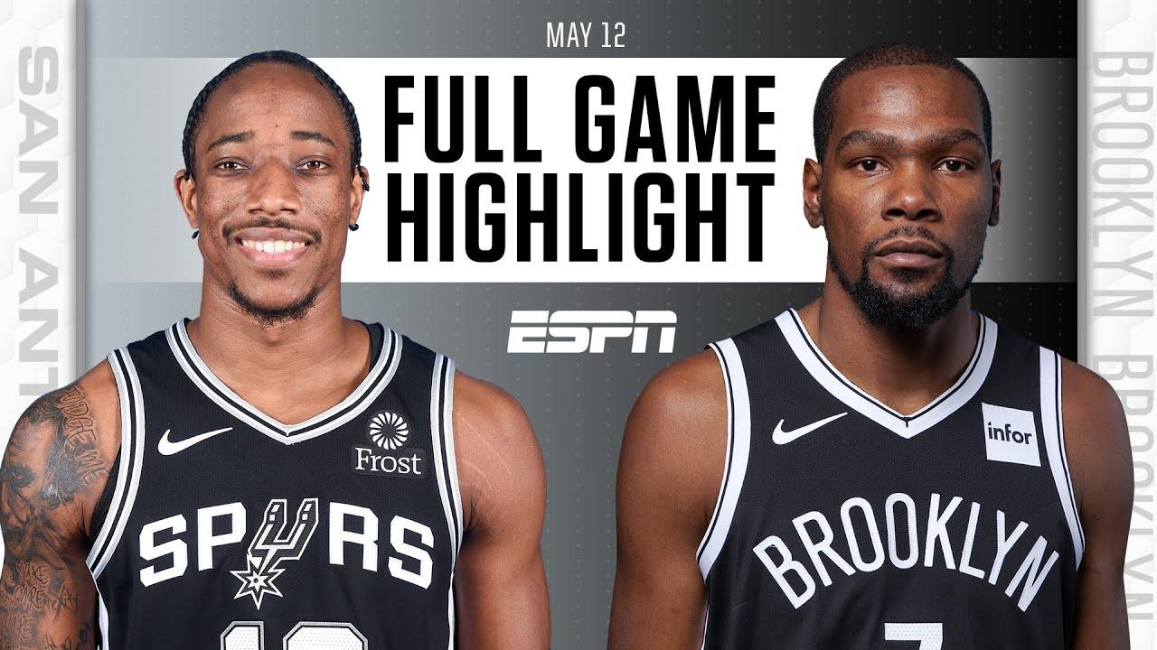 San Antonio Spurs at Brooklyn Nets | Full Game Highlights