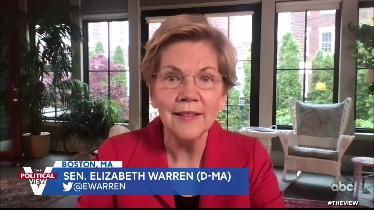 """Sen. Elizabeth Warren on How 2020 Presidential Primary Loss Inspired Book """"Persist"""" 