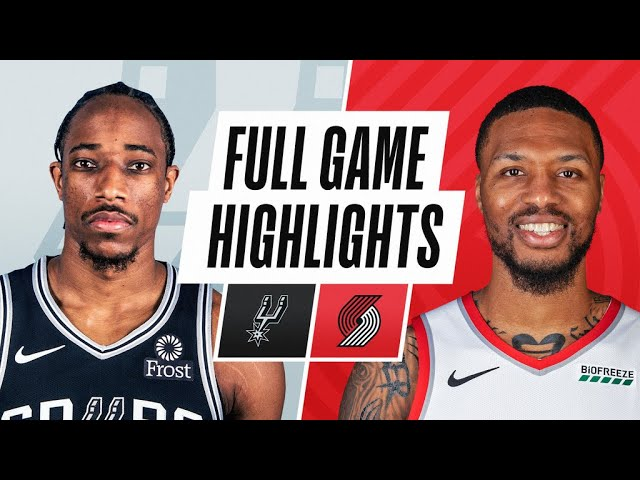 SPURS at TRAIL BLAZERS | FULL GAME HIGHLIGHTS | May 8, 2021