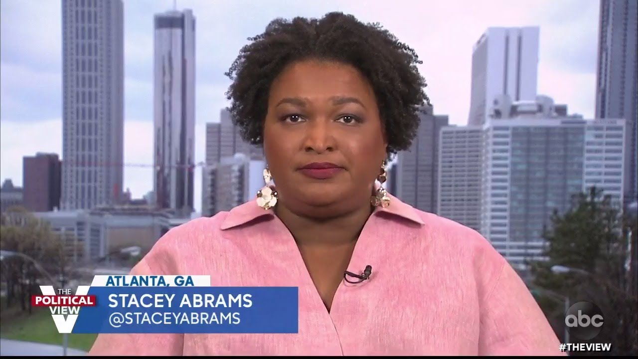 """Stacey Abrams Says New Voting Bills """"Should Be Concerning To Everyone"""" 