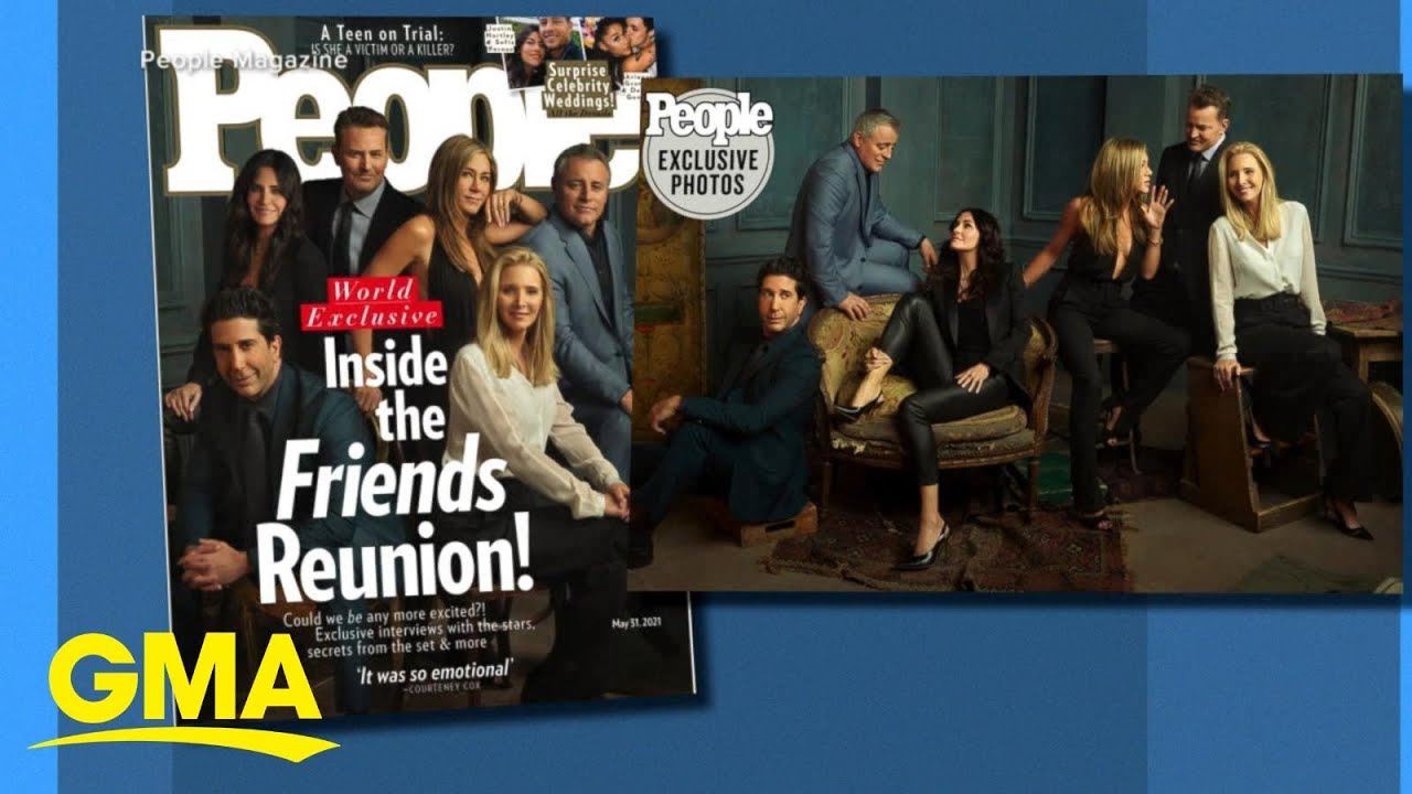 The one where we get a 1st look at the 'Friends' reunion l GMA