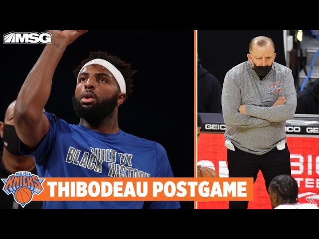 Thibs Provides Mitchell Robinson Injury Update After Loss to 76ers   New York Knicks