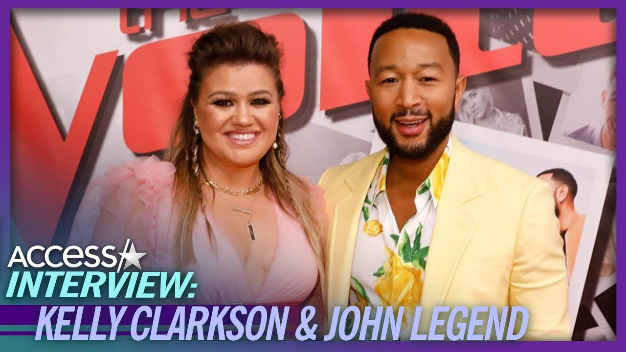 What Kelly Clarkson & John Legend Drink During 'The Voice'