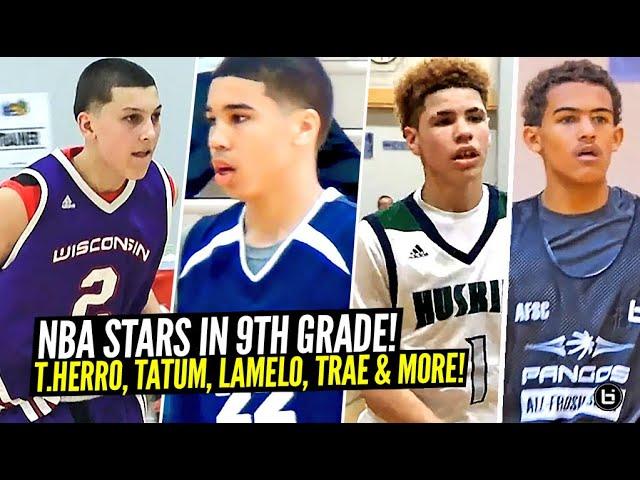 What NBA Stars Were Like In 9th Grade!! Tyler Herro, LaMelo Ball, Jayson Tatum & More!!