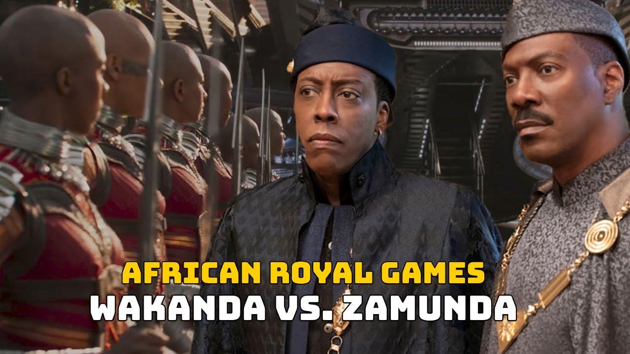 Zamunda Vs. Wakanda: Eddie Murphy & 'Coming 2 America' Cast Weighs In