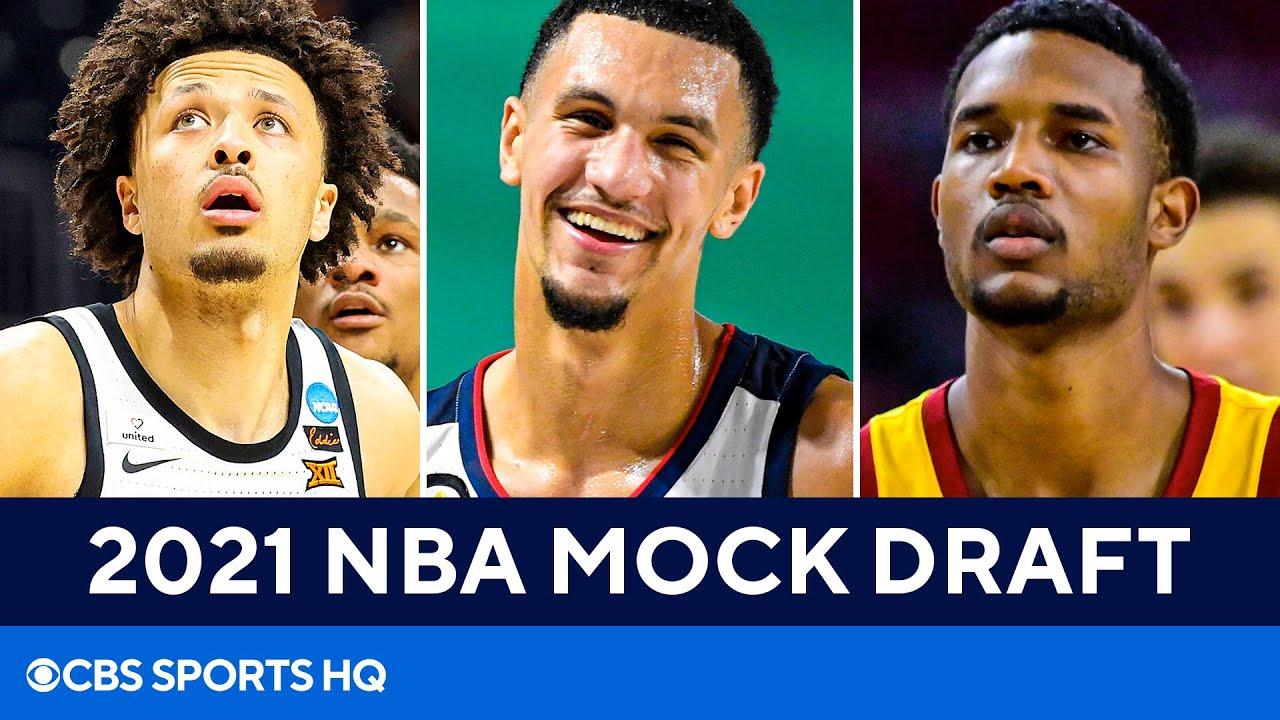 2021 NBA Mock Draft: Rockets land guard of the future at No. 1   CBS Sports HQ