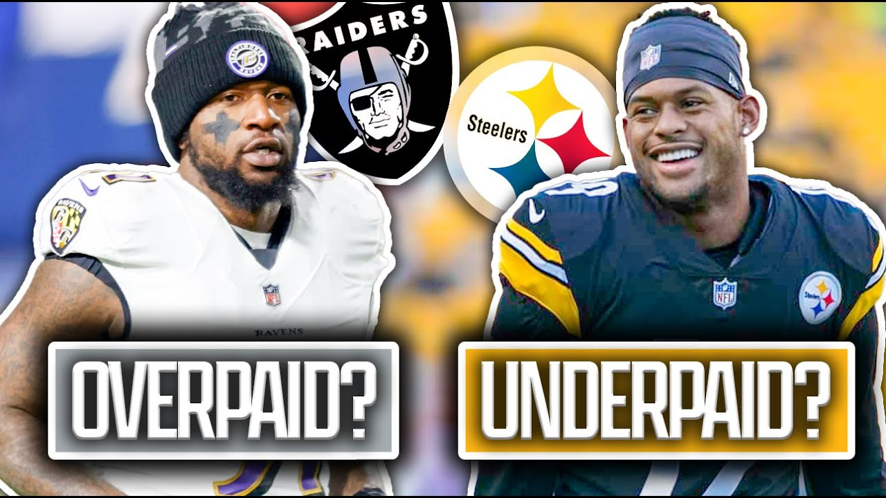 5 NFL Free Agents In 2021 that were Paid WAY TOO MUCH… and 5 that Should Have Gotten MUCH MORE!